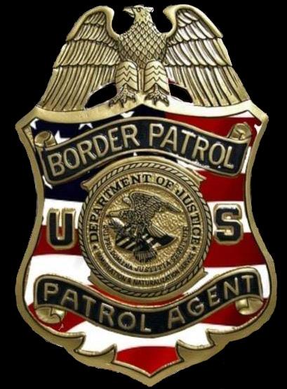 US Border Patrol Commemorative Badges