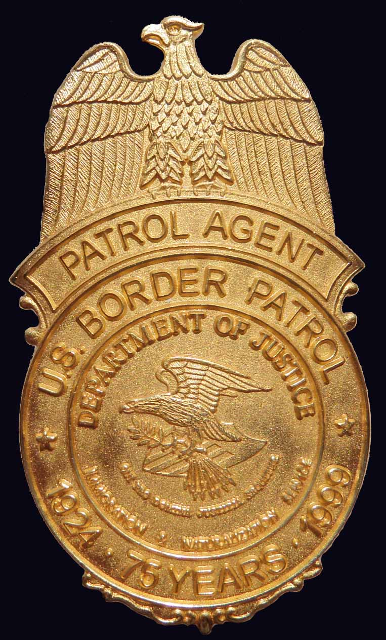 USBP 75th Anniversary badge