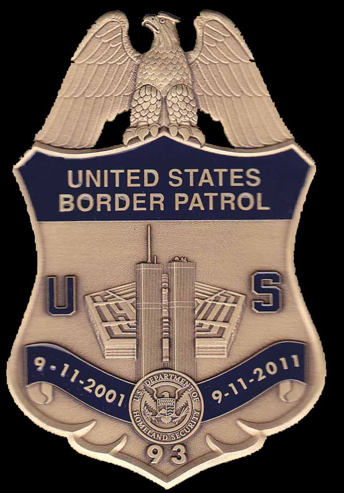 USBP 9-11 10th Anniversary Badge