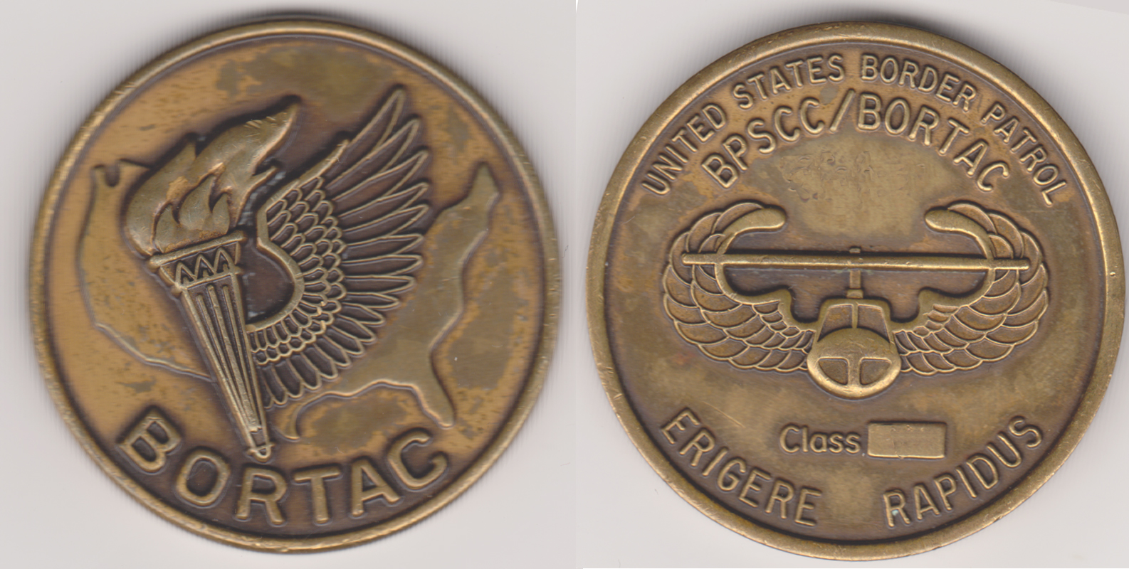 BORTAC CLASS coin (early version)