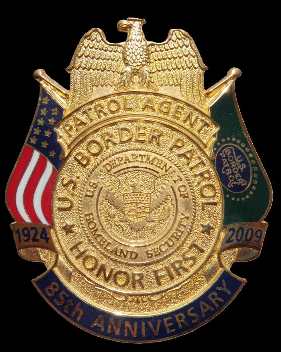 USBP 85th Anniversary Badge